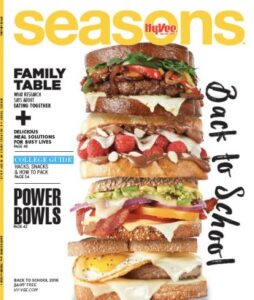 hyvee seasons magazine cover image leading to links of writer carrie anton's article clips