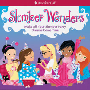 american girl book cover Slumber Wonders, which was edited by carrie anton