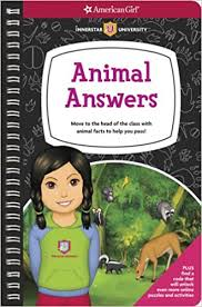 american girl book cover Animal Answers, which was edited by carrie anton