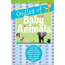 american girl book cover of Oodles of Baby Animals, which was edited by carrie anton