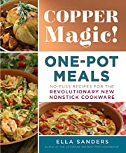 book cover of copper magic: one-pot meals, which was copyedited by carrie anton
