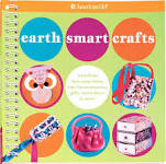 american girl book cover Earth Smart Crafts, which was edited by carrie anton
