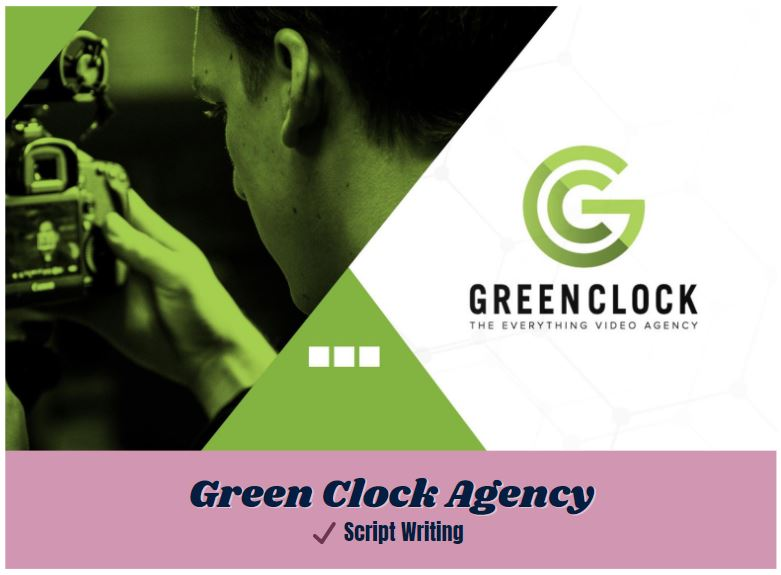 icon link to green clock agency script writing samples from carrie anton