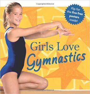 american girl book cover Girls Love Gymnastics, which was edited by carrie anton