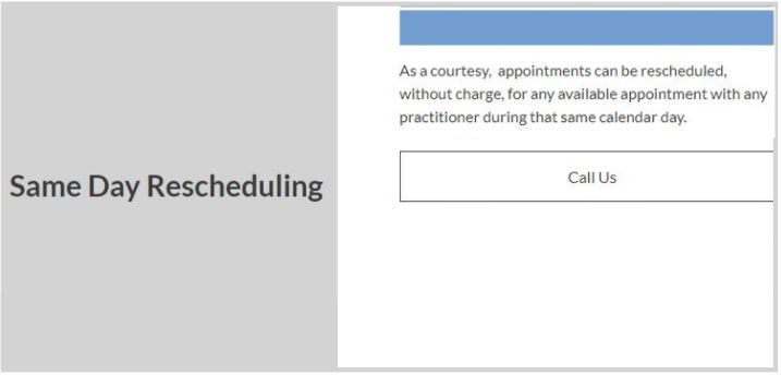 carrie anton ux writing sample of same day rescheduling for olo acupuncture