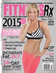 fitness rx for women magazine cover image leading to links of writer carrie anton's article clips
