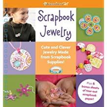 american girl book cover Scrapbook Jewelry, which was edited by carrie anton