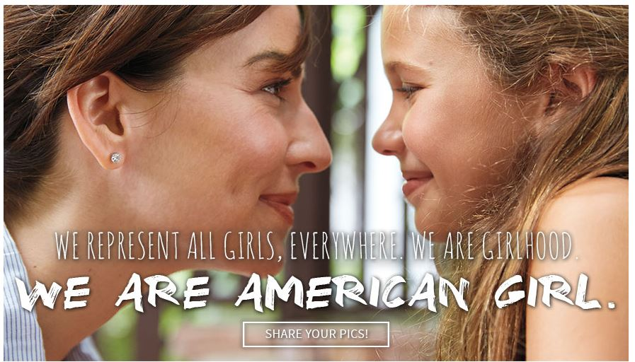 carrie anton ux writing microcopy of pledge campaign for american girl site explore section