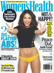 women's health magazine cover image leading to links of writer carrie anton's article clips